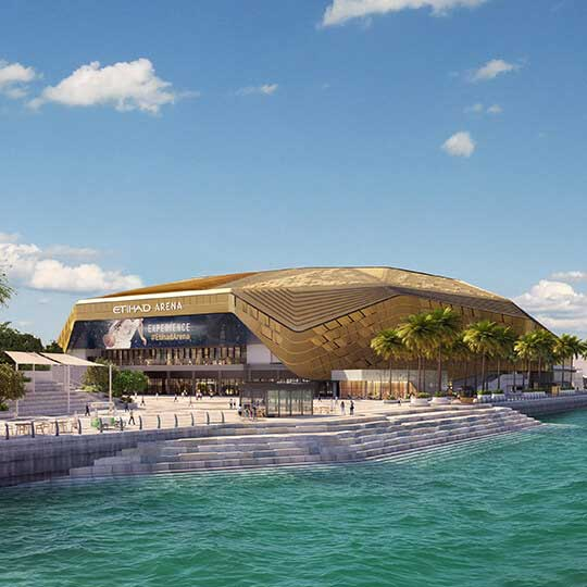 etihad arena - project development by Miral